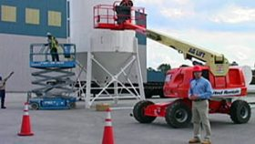 Aerial Work Platforms: Safe Operation of Scissor and Boom Lifts