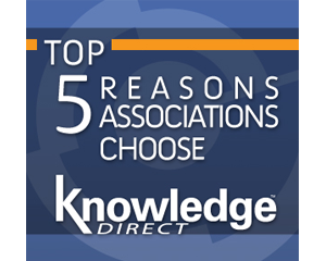 Top 5 Reasons Associations Choose the Knowledge Direct LMS Article