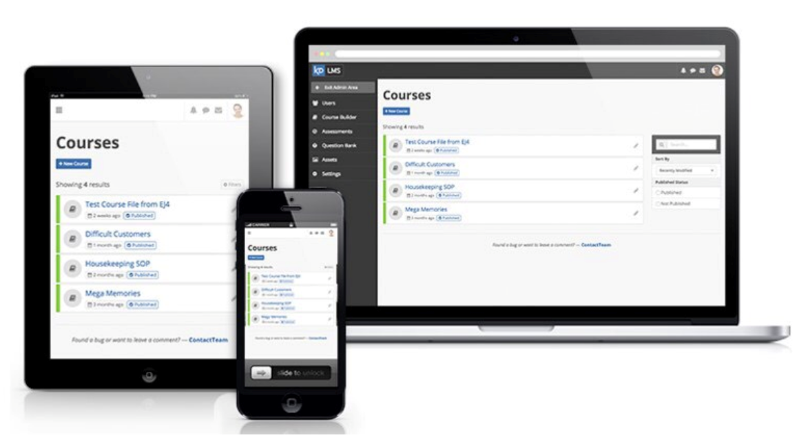 Knowledge Direct is Fully Responsive